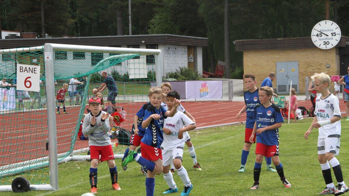 Hønefoss Sparebank Fotballskole