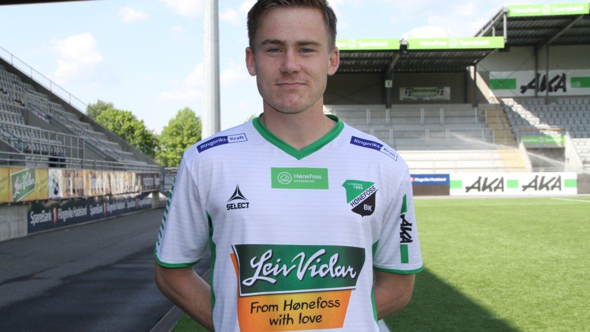 Håkon Langdalen støtter Fontenehuset