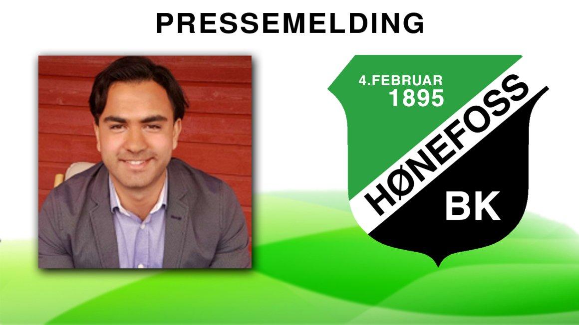 Leder for junioravdelingen i Hønefoss Ballklubb