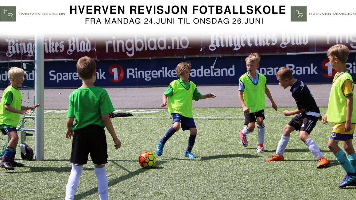 HVERVEN REVISJON FOTBALLSKOLE