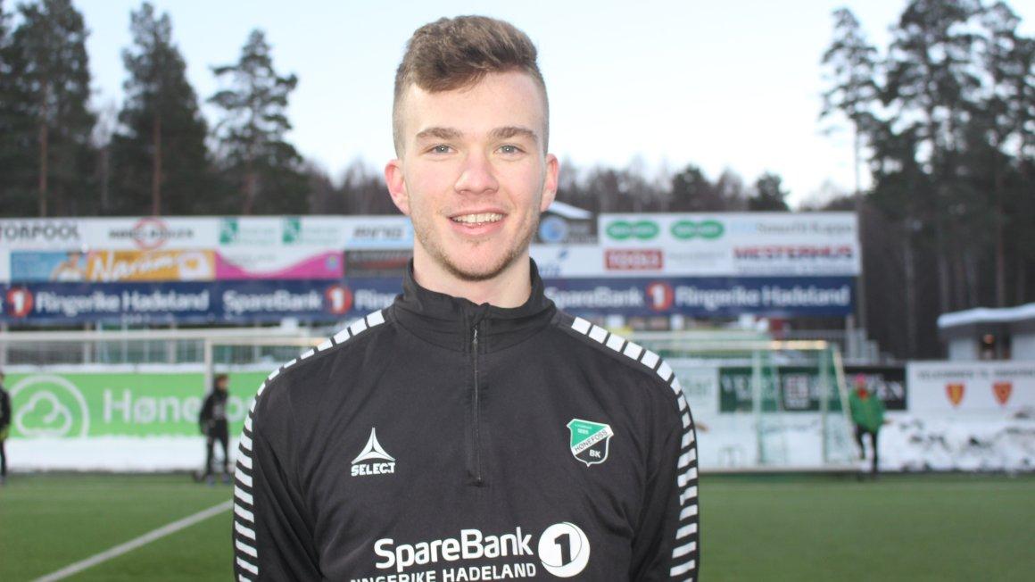 Calvin Roddie (23) klar for Hønefoss BK