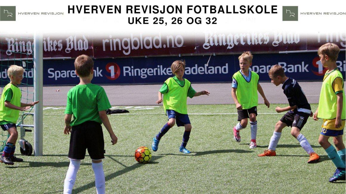 Påmelding Hverven revisjon fotballskole 2021