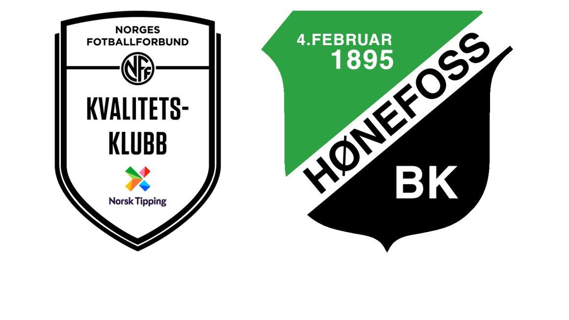 Hønefoss BK er en Kvalitetsklubb