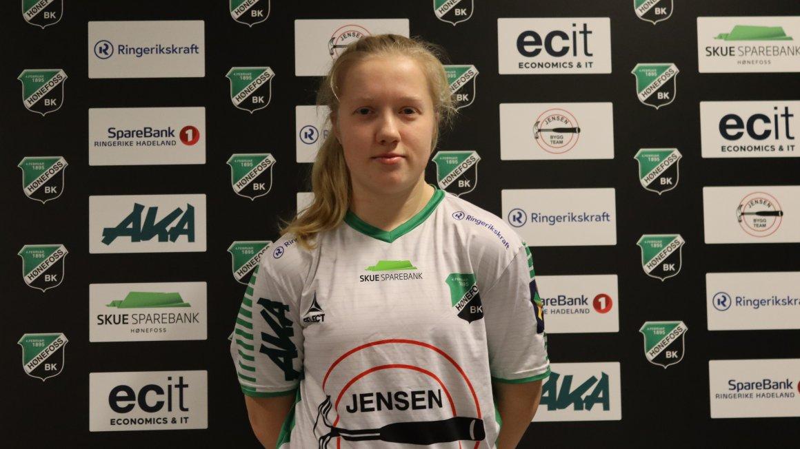 Martine Ness (20) klar for Hønefoss BK
