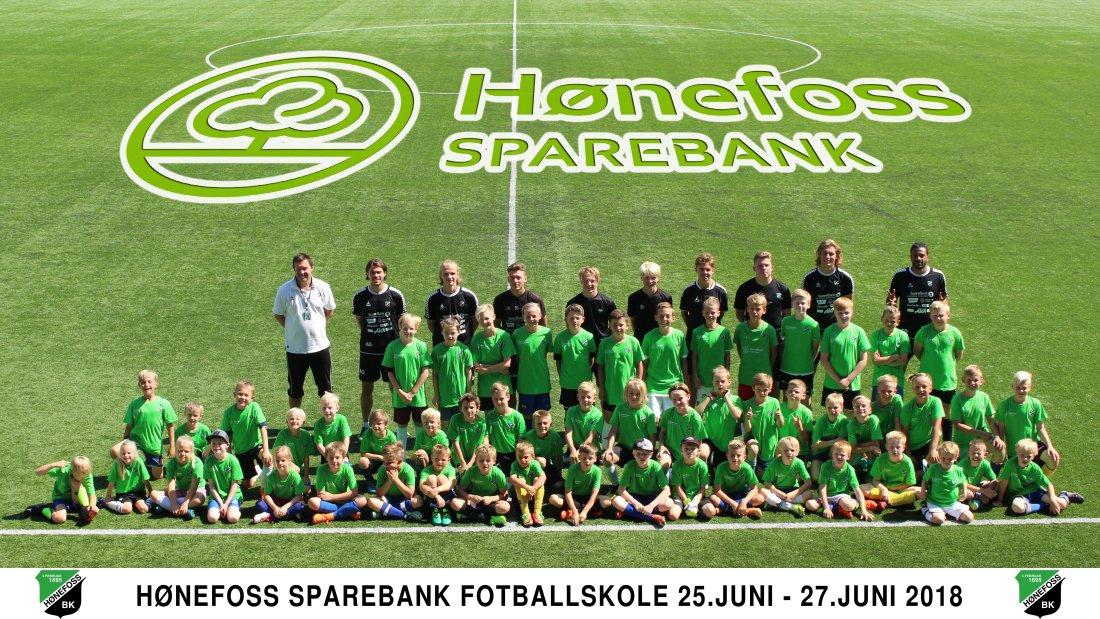 Hønefoss Sparebank Fotballskole 2018